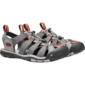 Keen Clearwater CNX Sandaalit Miehet, grey flannel/potters clay